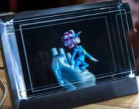 Представлен первый в мире голографический 3D-дисплей c разрешением 8K