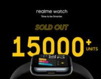 Первую партию Realme Watch раскупили за две минуты
