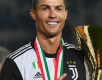 За время карантина Роналду заработал 2 млн евро за четыре поста в Instagram