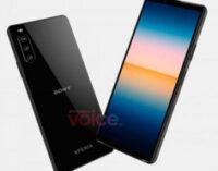 Появились официальные рендеры смартфона Sony Xperia 10 III